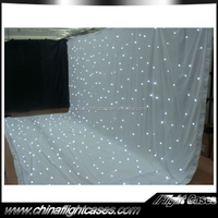 low price stage performance clothing stage decoration star curtain concert backdrop led rgb starcloth, show decorationcloth