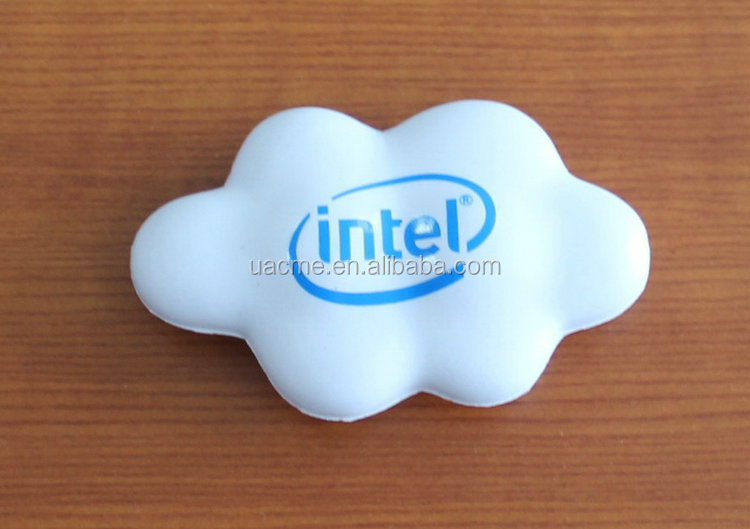 Best sale white cloud stress ball buy direct from china manufacturer