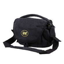 High Quality waxed Waterproof Canvas Camera Shoulder Bag and Digital Cameral Bag for Carrying