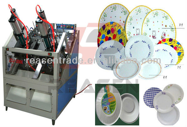 Fully Automatic Used Paper Plate Making Machine (RS-ZDJ300K)