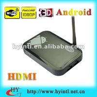 2012 Best Google Android Smart TV Box With Wifi Dongle HD 1080P HDMI