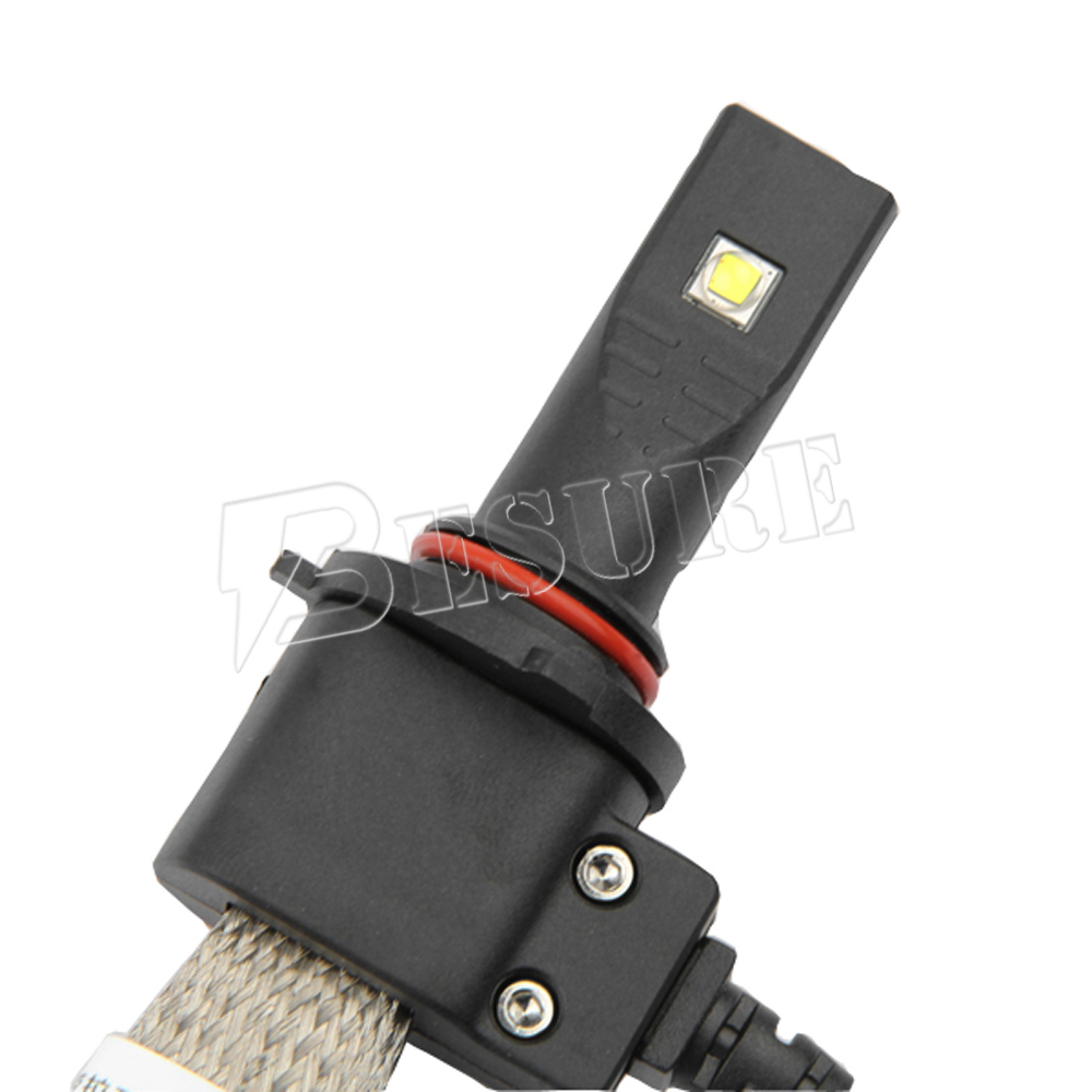 LED Auto Headlight H1 H3 H4 H7 H11 H13 9004 9005 Car Fanless Heat Sink LED Head Lamp