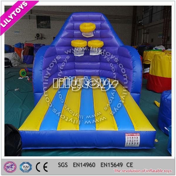 Beautiful design trampoline giant inflatable basketball hoop for sale