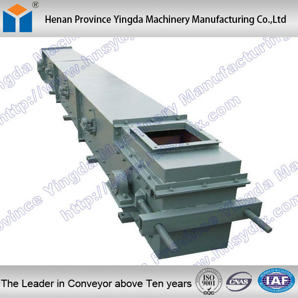 Chain Type Cast stone scraper conveyor