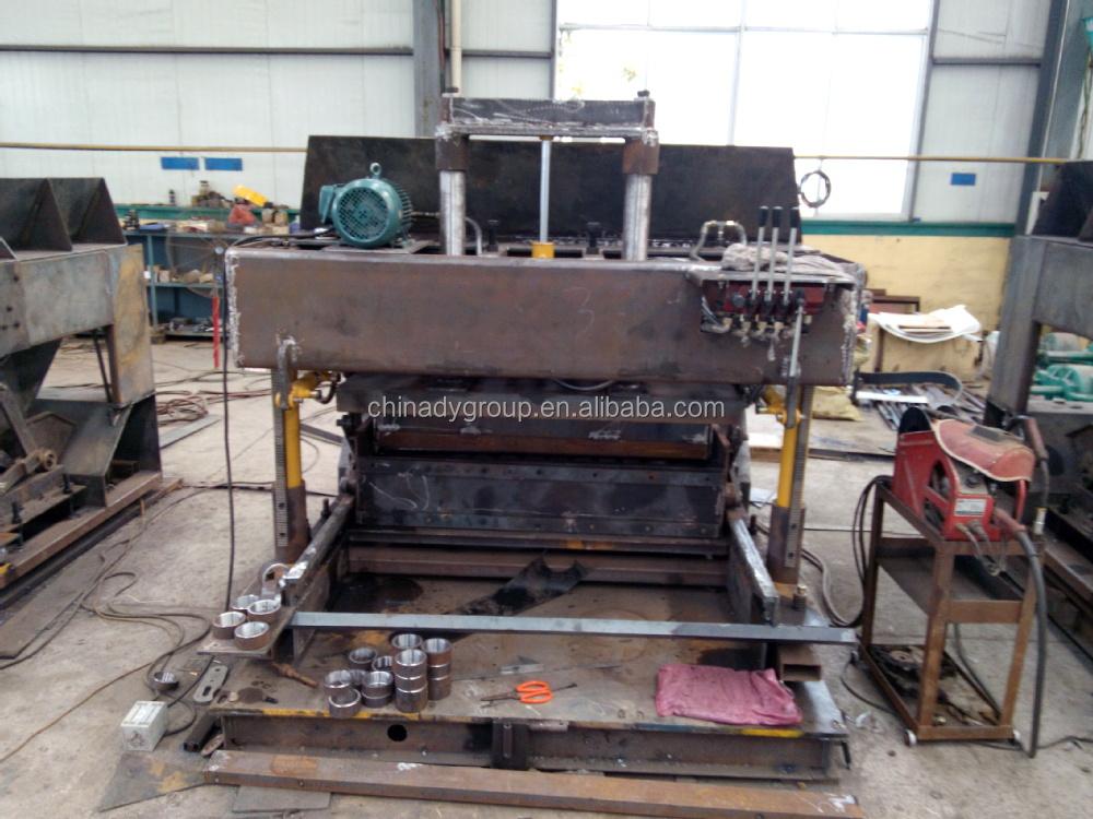 Hot Sale Qtm6 25 Mobile Brick Making Machine Egg Laying