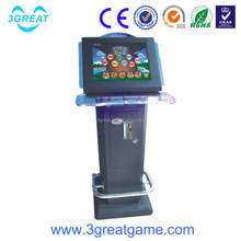 Amusement park india arcade amusement game machine touch screen electronic ticket machine