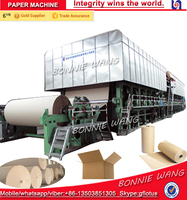 High Quality 10T/D kraft paper/carton board making machinery , paper production line