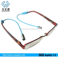 silicone magnetic sunglasses neck strap eyeglass strap