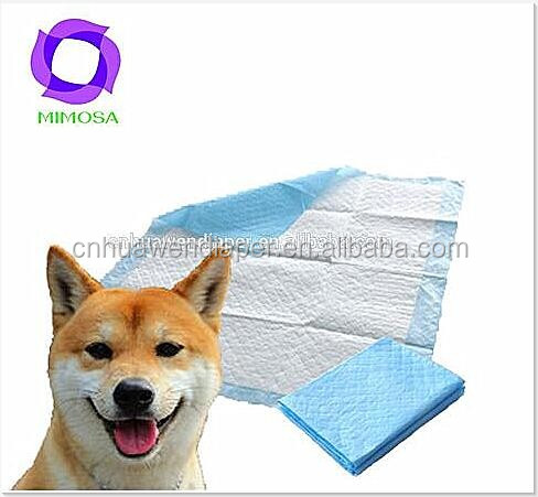 high quality cheap factory price waterproof pet training pad