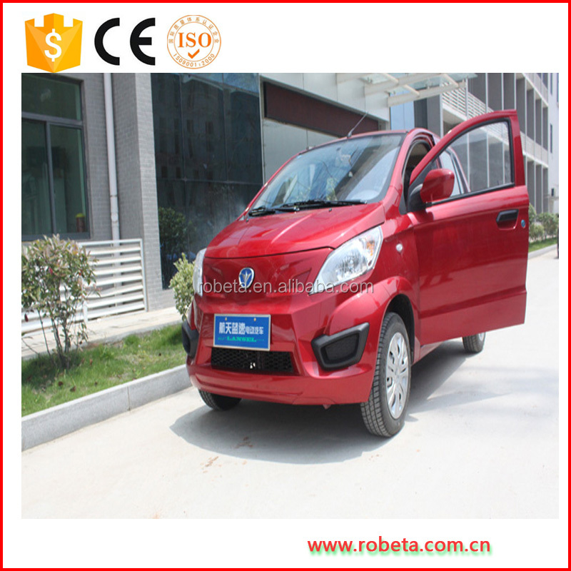 High Quality Automobile Electric Vehicle / Car With EEC For Passengers