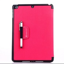 2013 fashion girls' style tablet cover flip leather case for Ipad air