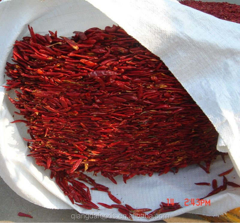 red tianjin chilli