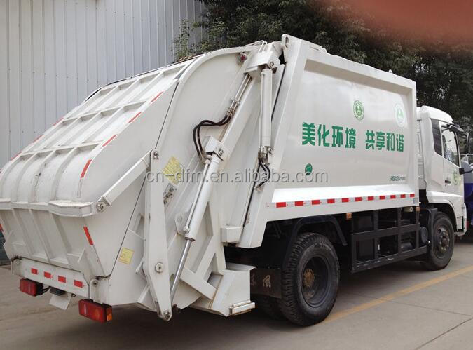 Dongfeng left or right hand drive 4x2 Diesel engine 7 m3 Garbage Truck Capacity