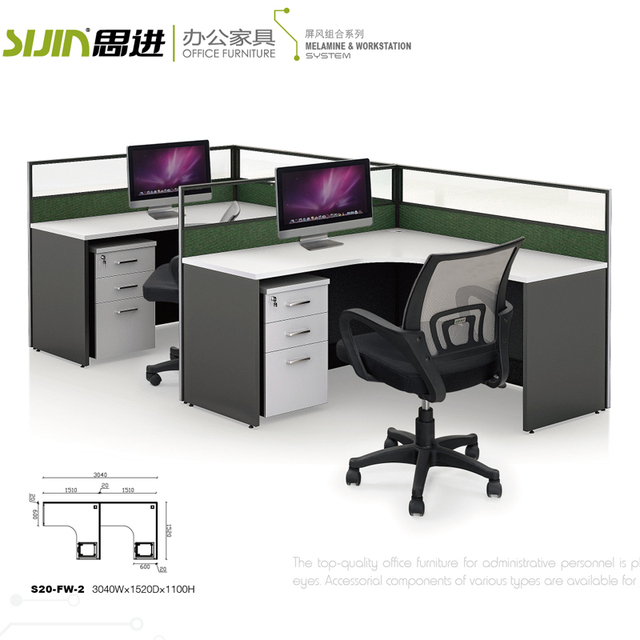 Office Workstations Modular 2 Person Office Workstation Open Office  Workstation