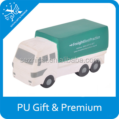 car soft toy pattern mini trucks for sale containers advertising toy car assembly pu stress truck toy
