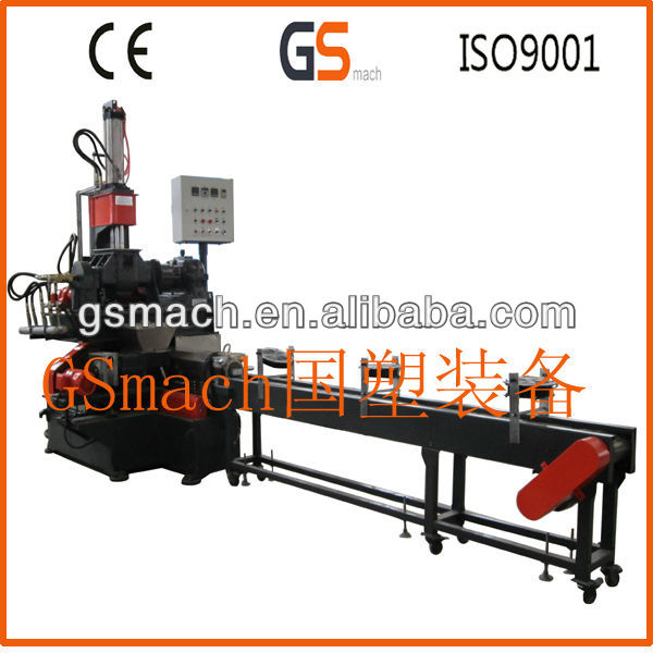 Carbon black processing machine plastic pellet machine 150 single screw extruder pe caco3 filler masterbatch