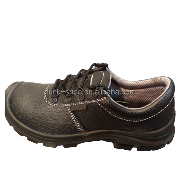 Cheap Price Leather Upper PU Outsole Material Safety Shoe for Men
