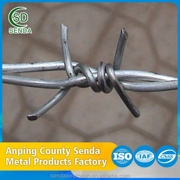 Factory Price Low Carbon Rabor Blade Barbed Wire