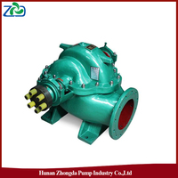 High Quality ZHONGDA S Series Single-stage Double-Suction Axially Split Centrifugal Water Pump 30m Head Electric