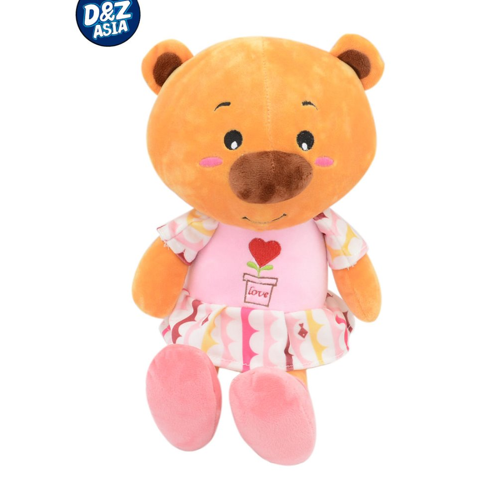 Accompany sleeping kids safe plush bear