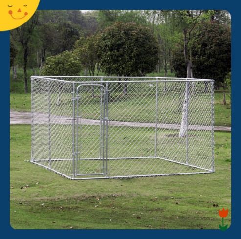Large Dog Kennel Dog Run Cage Outdoor Pet Safe Puppy Shelter
