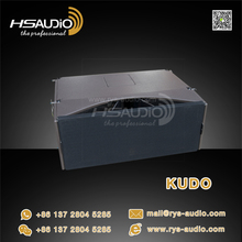 Acoustic KUDO neodymum driver double 12 inch passive 3-way line array loudspeaker