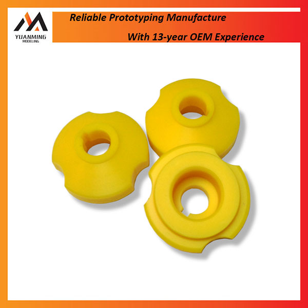 Small production rubber moulded plastic machinery spare parts