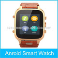 Wholeasle 2015 GPS WIFI Bluetooth Android4.4 GSM 3G unlocked smart watch mobile phone