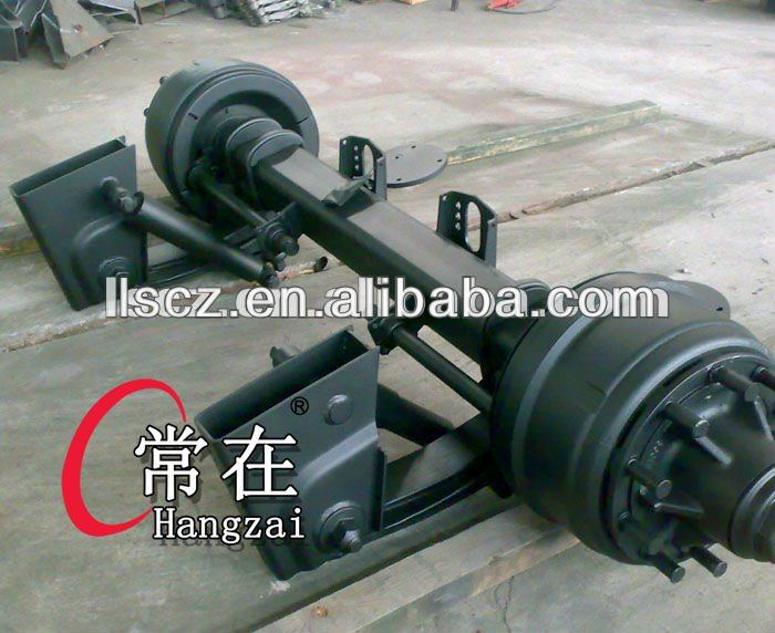 semi trailer axle