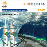 RT-678 Acetoxy Aquarium Silicone Sealant