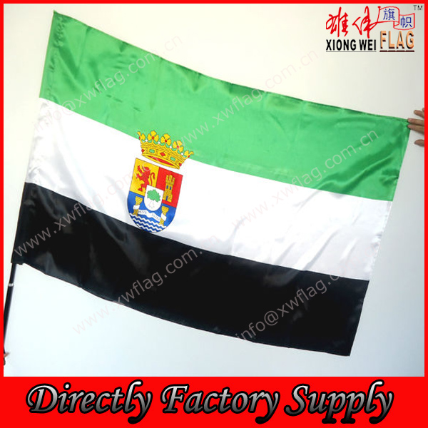 Hanging flag Embroidered national flag Oxford fabric 3X5feet body wrap around national flag