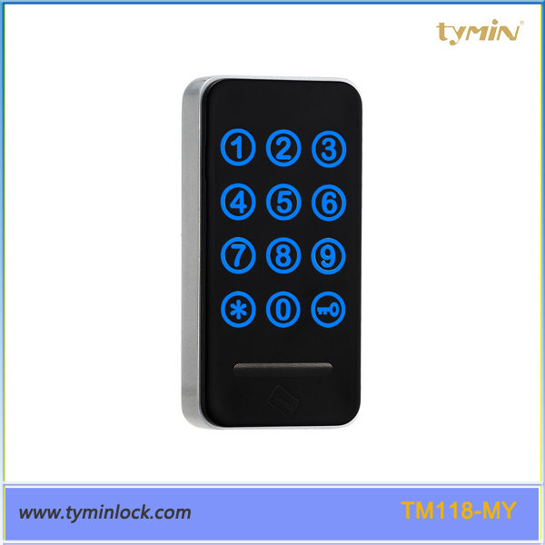 TM118 High Reliable Digital Locker Keypad Cabinet Lock, with RFID Key Card and Code to unlock