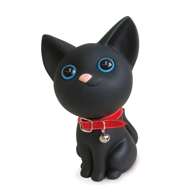 Cute Cat Creative Money Box Custom Plastic Animal Shape Coin Bank <strong>Toys</strong>