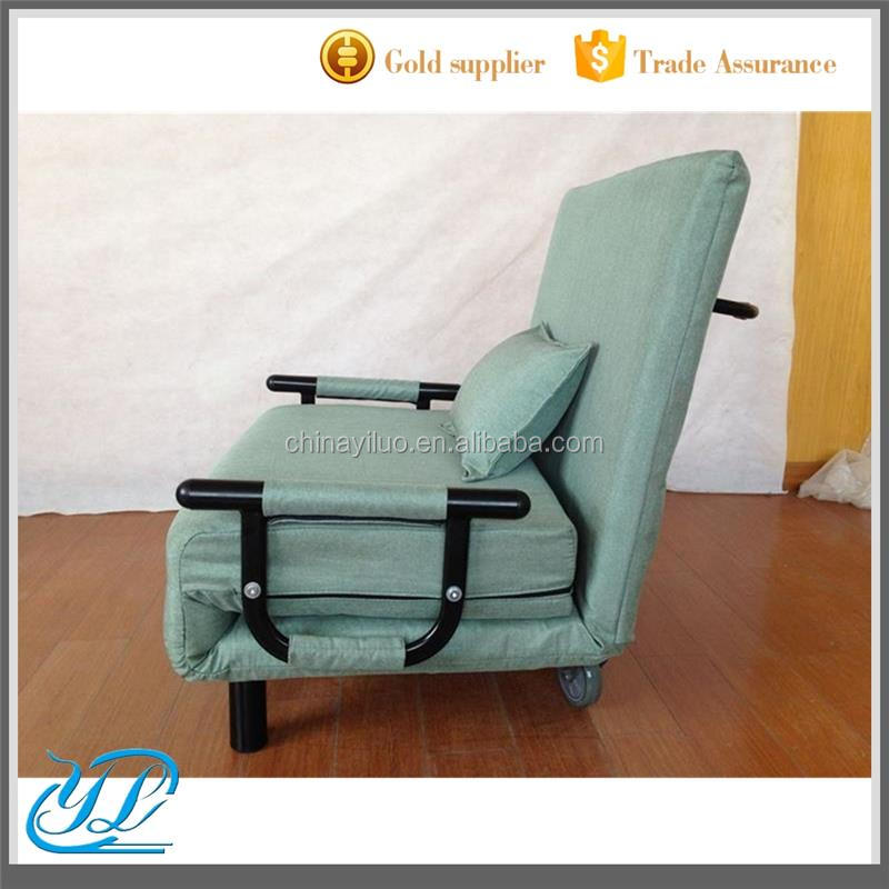 YLCT015 High Quality Folding Sofa Chair Bed Set Living Room Furniture