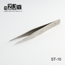 HZJY ST-10 Lady Eyelash Extension Professional Angular Straight Tweezer