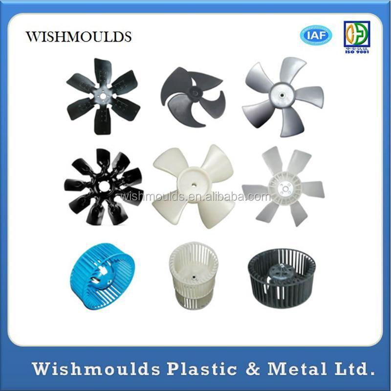 Electric Motor Plastic Fan Blade : Electric motor cooling fan blade parts