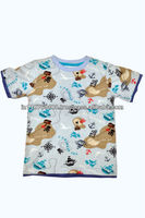 Organic cotton Kids all over print T shirt