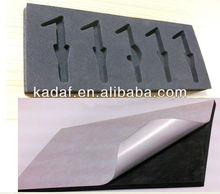 China factory of custom Die Cut foam with adhesive back