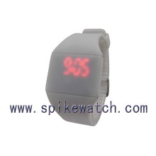 Unisex Rubber Jelly Touch Screen LED Watch Silicone Sport Watch