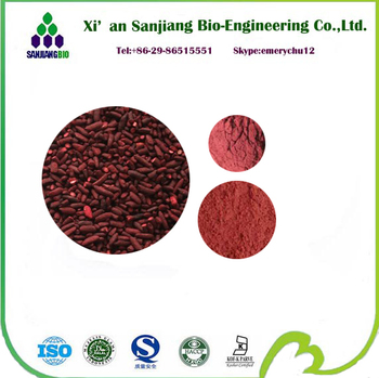 100% Pure And Organic Red Yeast Rice Extract Monacolin K