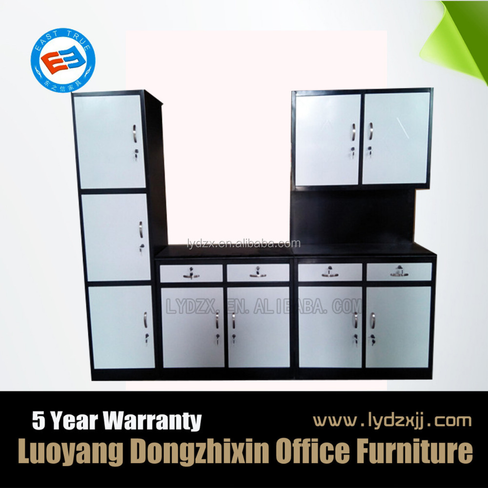 modern cheap iron foshan furniture steel kitchen cabinet