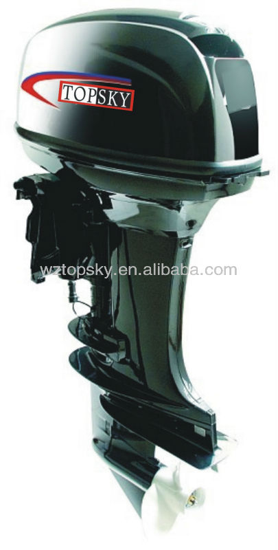 2-stroke, 200 hp, Outboard Motor with Electric Starter and power Trim Tilt