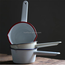 China Supplier High Quality Enamel Sauce Gravy Soup Milk Roasting Pan 16cm
