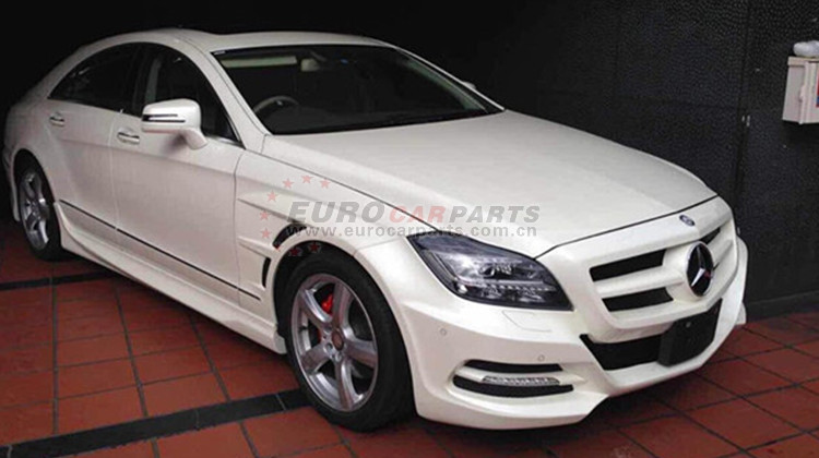CLS W218 body kits fit for MB CLS-CLASS W218 to W218 L body kits LOR-style