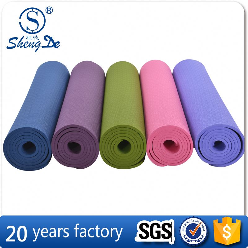 yoga mat non slip <strong>eco</strong> , cooling yoga mat , 6 mm yoga mat with handle