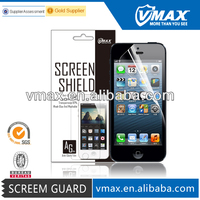 Safeguard screen protector for iPhone 5 oem/odm (Anti-Glare)