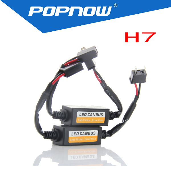 led headlight canbus warning canceller, capacitor error free, load resistor for h1, h3, h7, h8/h9/h11, h16/5202, 9005, 9006