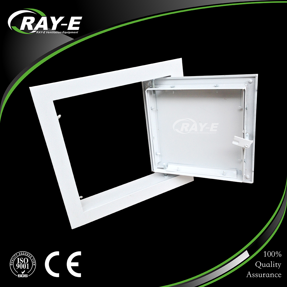 Guangzhou factory price direct selling galvanized sheet trap door aluminum ceiling access door for shop