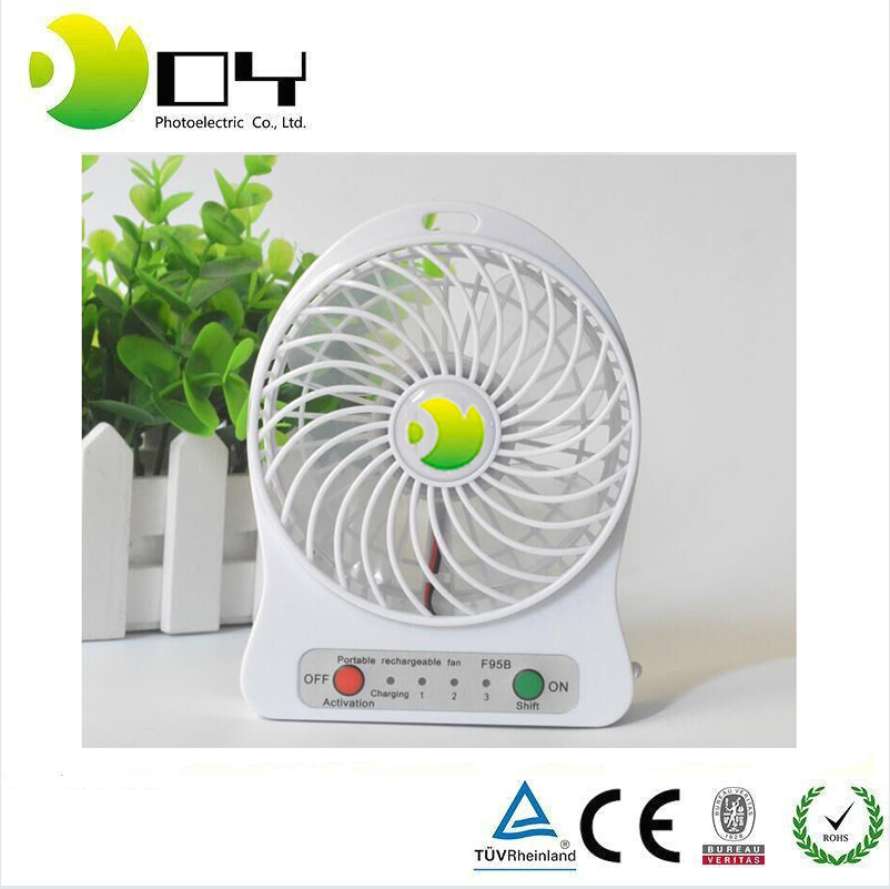 Portable usha foldaway electric handy fan rechargeable table fan small table fan