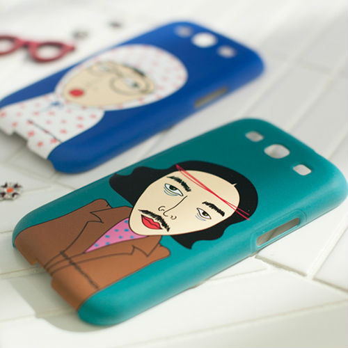 Guti Bati_Happymori New Design Cell Phone Hard PC Case Cover for Galaxy S3 (Made in Korea)